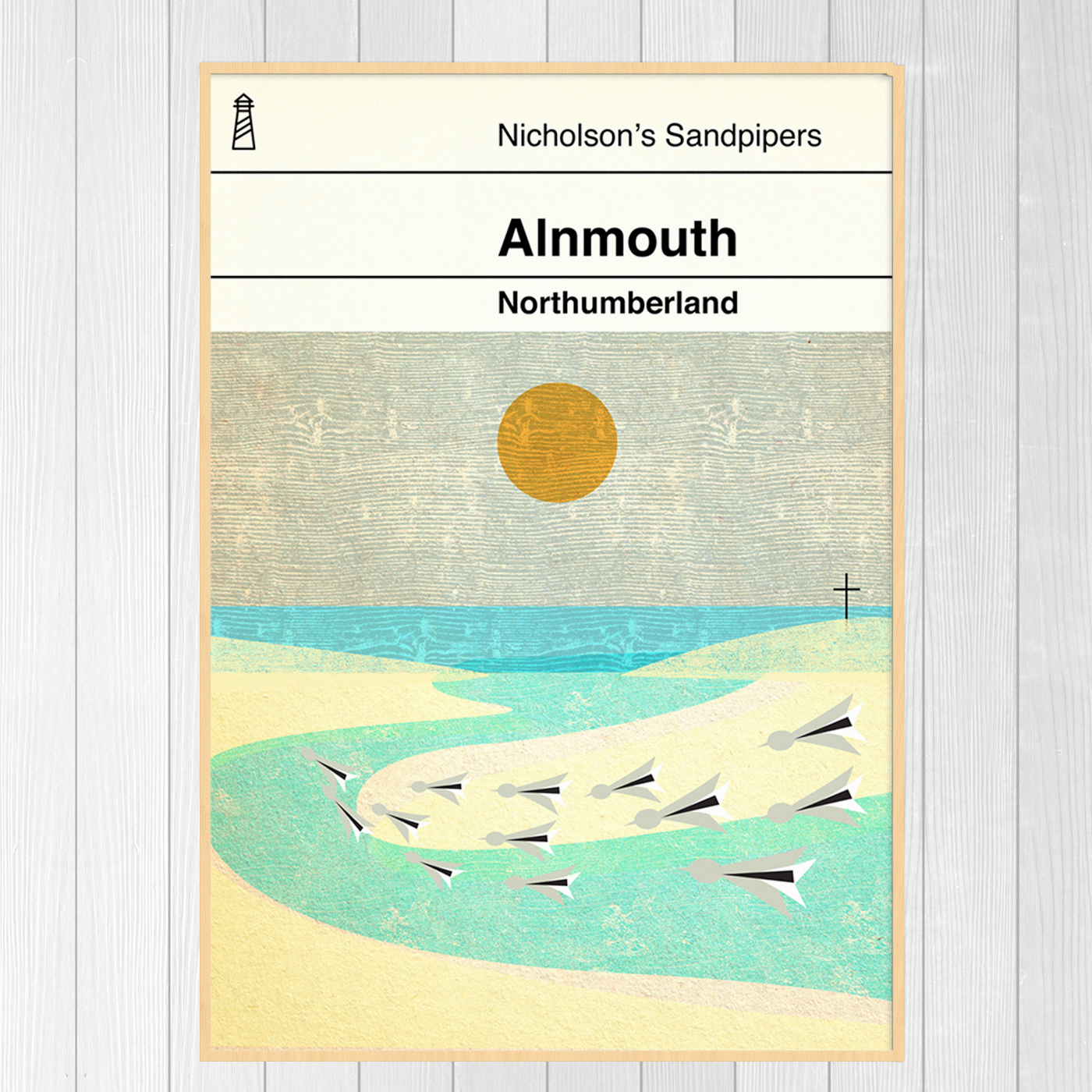 Alnmouth Book Cover Print